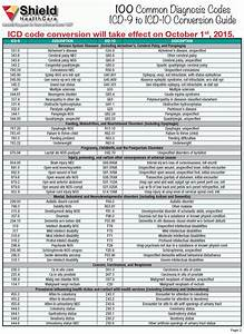 100 Common Dx Codes  Icd
