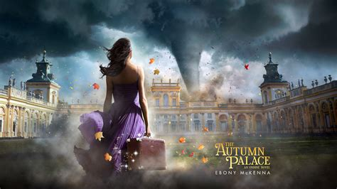 autumn palace ondine  hd wallpaper background