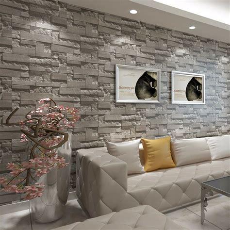 modern  brick home bedroom living room wall background