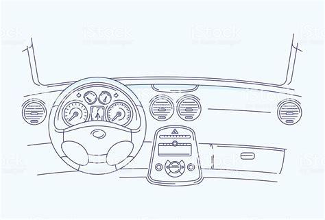 Car Interior Stock Vector Art & More Images Of Car