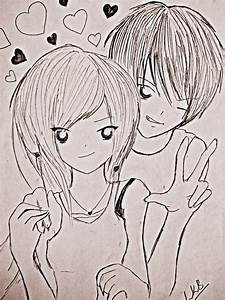 Cute Pencil Sketches Of Love   www.pixshark.com - Images ...