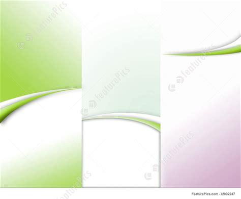 illustration  tri fold brochure template
