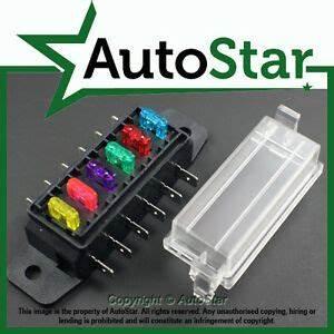 Mini Blade Fuse Holder Box : 6 way mini blade fuse box holder atm apm circuit caravan ~ A.2002-acura-tl-radio.info Haus und Dekorationen