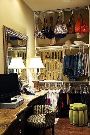 walk in closet with vanity eclectic closet ej interiors