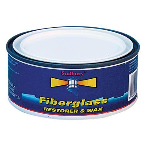 Boat Restorer Wax by Sudbury One Step Fiberglass Restorer Wax