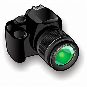 Vector for free use: Camera icon