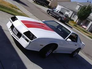 California 1984 Z28 White    Red Stripes