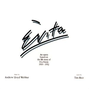 letter soundtrack cover evita album