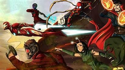 Avengers Infinity War 4k Wallpapers Team 5k