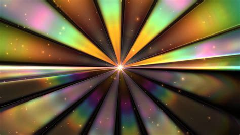 rainbow centered rays spread p motion background