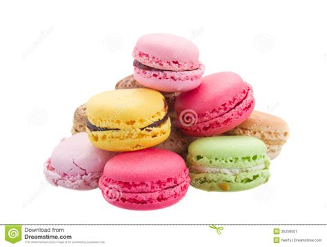 Macaroons Images Pile Of Macaroons Stock Image Image 35258501