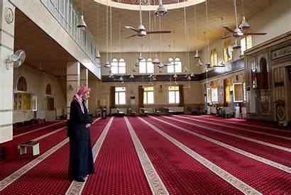 Mosques Masjid Empty Corona Coronavirus Stay Friday