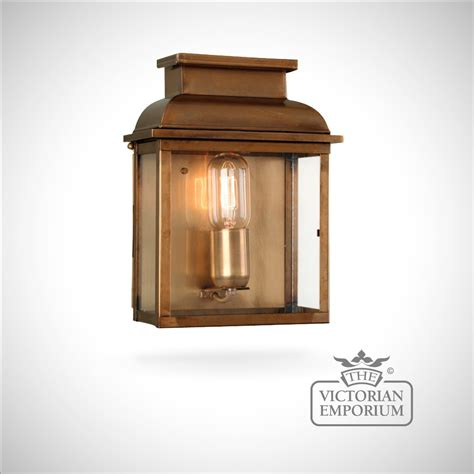 bailey brass wall lantern antique brass outdoor wall
