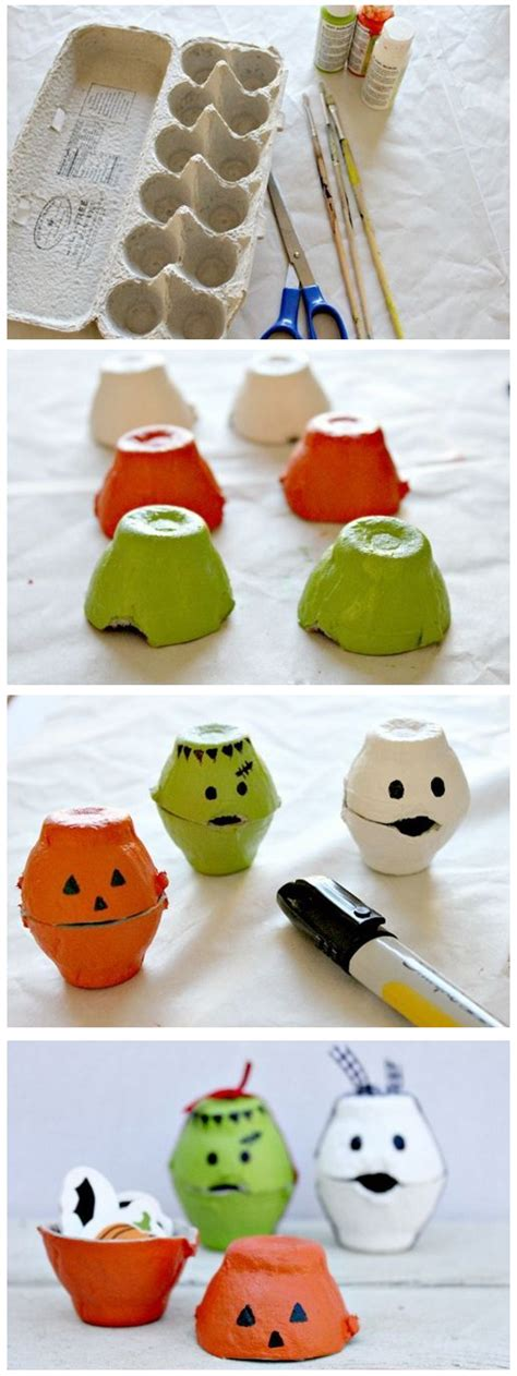 Halloween Recycling Craft Ideas  Earthfirst Is Your Green