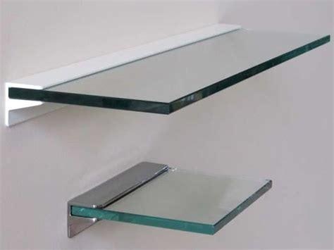floating glass shelves glass floating shelves bunnings
