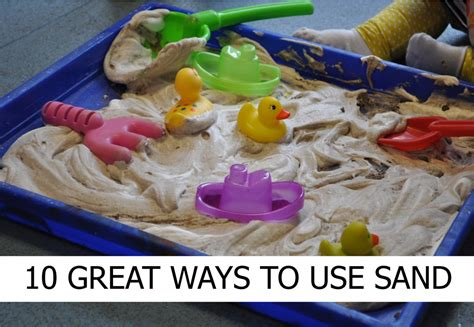 10 Great Ways In Making Sand Play Engaging  Early Years Careers