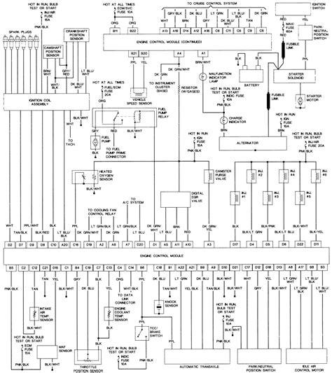 1987 Oldsmobile Cutlas Ciera Wiring Diagram by Repair Guides Wiring Diagrams Wiring Diagrams