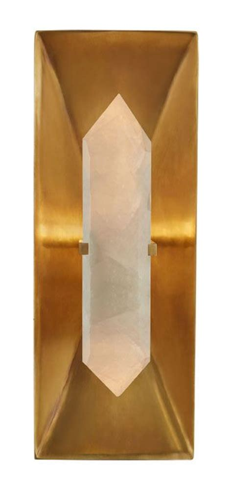 wearstler halcyon rectangle sconce selected