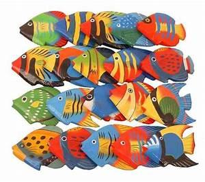 Fische Aus Holz : deko fische aus holz kleine streufische 20 st ck tierfiguren asien ~ Buech-reservation.com Haus und Dekorationen