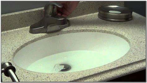 Bathroom Sink Drain Clogged Standing Water-sink And