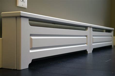 tips diy baseboard heater covers   living space