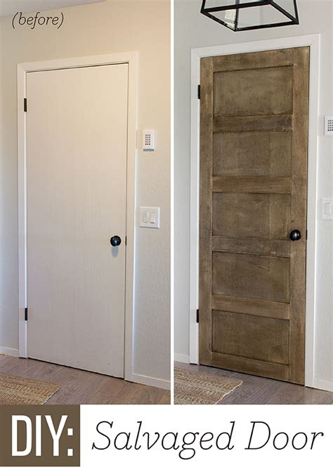 how to make flat panel cabinet doors remodelaholic 5 panel door from a flat hollow core door