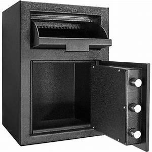 Barska Standard Depository Keypad Safe Black Matte Ax12588