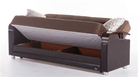 sectional sleeper sofa with storage luna sofa bed with storage