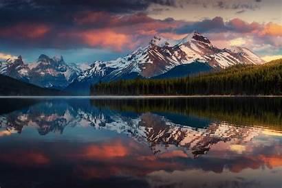 Canada Landscape Nature Berge Kanada Mountains Hintergrundbild