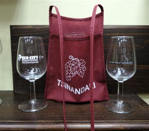 bicchieri da degustazione sacca porta calice bicchiere in tnt calici e bicchieri