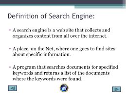Search Engine Marketing Meaning by What Is The Meaning Of Search Engine Quora