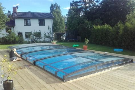 abri piscine sans rail abri piscine bas sans rail