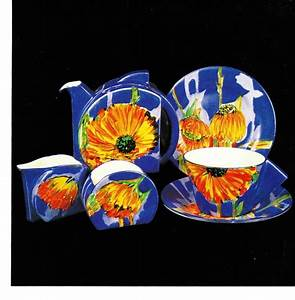 88 best clarice cliff pottery images on Pinterest