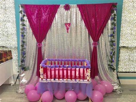 diy decoration  cradle ceremony cradle ceremony