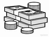 Money Coloring Dinheiro Moedas Colorir Cash Play Imprimir Imagem Printable Desenho Pintar Ausmalbilder Geld Imagens Bilhetes Cool2bkids Tudodesenhos Resultado Desenhos sketch template