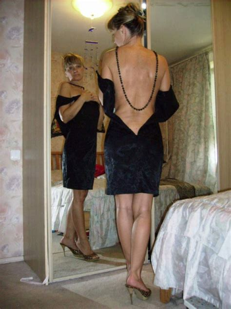 Hot Wife Ready To Take That Dress Off