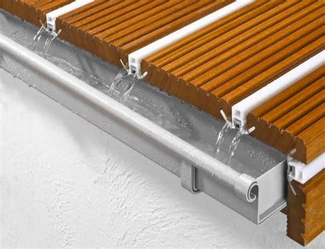 Kunststoffdielen Für Terrasse by Alpha Wing Wasserableitende Und Schmutzdichte