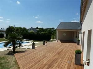 bardage bois exterieur amenagement exterieur bois With photo amenagement terrasse exterieur