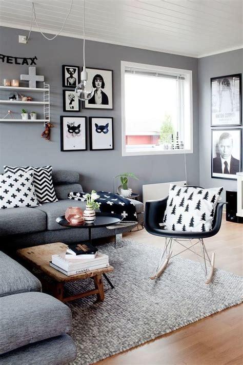foto living en gris  blanco  habitissimo