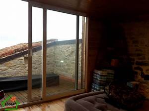 Baie Vitrée Coulissante Alu : baie coulissante vitree aluminium mauressargues ~ Dailycaller-alerts.com Idées de Décoration