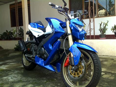 Vixion Modif Fighter by And Modifikasi Syndicate Vixion Minor Fighter By And