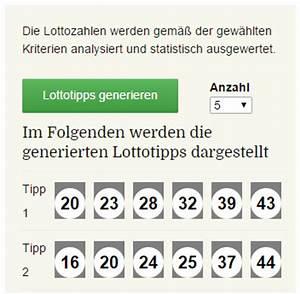 Lottozahlen Kombinationen Berechnen : optimierte lottotipps lottozahlen generator lotto 6 aus 49 ~ Themetempest.com Abrechnung