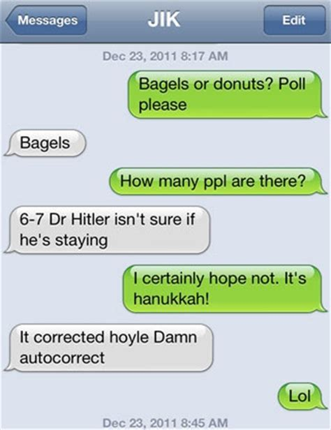 hysterical food text messages