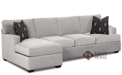 lincoln fabric chaise sectional  savvy  fully customizable   savvyhomestorecom