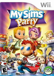 Mysims Party Box Shot For Wii Gamefaqs