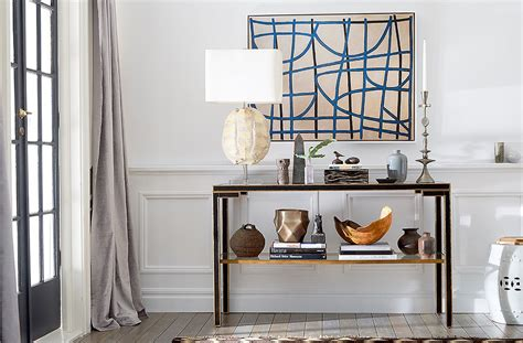 Decorating Sofa Table by A Step By Step Guide To Decorating A Console Table