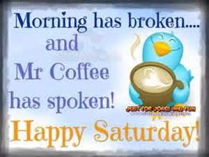 Happy Saturday Morning Coffee