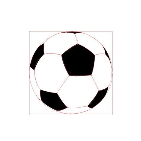 create  realistic soccer ball  adobe illustrator