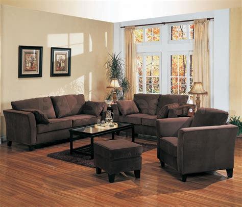 wall colour  brown furniture wall colors