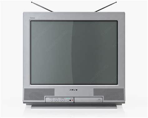 3d Old Tv Sony Trinitron